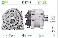 generátor VALEO 436749