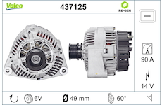 generátor VALEO 437125