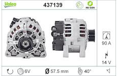 generátor VALEO 437139