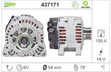 generátor VALEO 437171