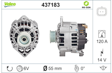generátor VALEO 437183