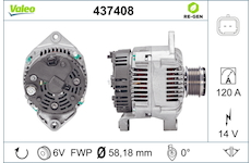 generátor VALEO 437408