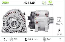 generátor VALEO 437429