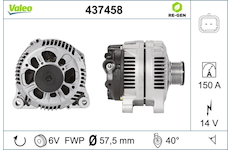 generátor VALEO 437458
