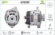 generátor VALEO 439290