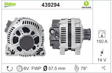generátor VALEO 439294
