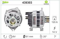 generátor VALEO 439303