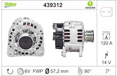 generátor VALEO 439312