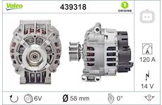 generátor VALEO 439318