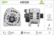 generátor VALEO 439326