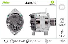generátor VALEO 439480