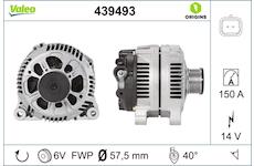 generátor VALEO 439493