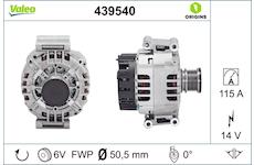 generátor VALEO 439540
