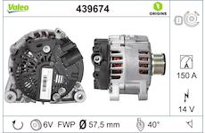 generátor VALEO 439674
