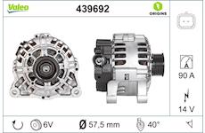 generátor VALEO 439692