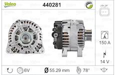 generátor VALEO 440281