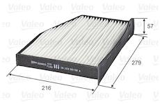 Filtr, vzduch v interiéru VALEO 698800