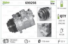 Kompresor, klimatizace VALEO 699298