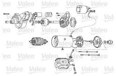Startér VALEO D7R61