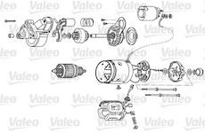 Startér VALEO D8R28