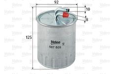 palivovy filtr VALEO 587509