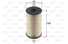palivovy filtr VALEO 587904