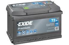 startovací baterie EXIDE EA722