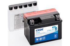 startovací baterie EXIDE ETX4L-BS