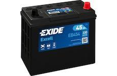 startovací baterie EXIDE EB454