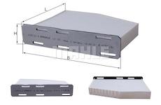 Filtr, vzduch v interiéru KNECHT LA 181
