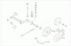 Zavěżení kola LEMFÖRDER VW-GOLF-RL002