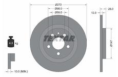 Brzdový kotouč TEXTAR 92118203