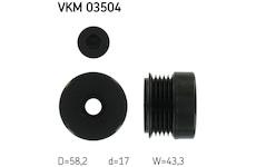 Předstihová spojka SKF VKM 03504