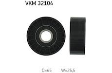 Vratna/vodici kladka, klinovy zebrovy remen SKF VKM 32104