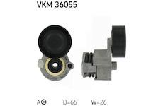 Napinaci kladka, zebrovany klinovy remen SKF VKM 36055
