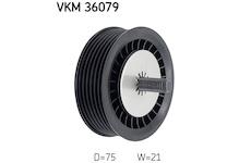 Vratna/vodici kladka, klinovy zebrovy remen SKF VKM 36079
