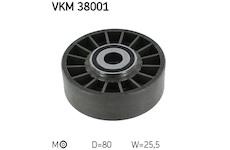 Napinaci kladka, zebrovany klinovy remen SKF VKM 38001
