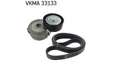Sada zebrovanych klinovych remenu SKF VKMA 33133