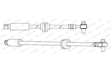 Brzdová hadice FERODO FHY2834