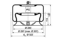 Mech, pneumaticke odpruzeni PE Automotive 084.260-72A