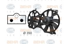 Větrák, chlazení motoru BEHR HELLA SERVICE 8EW 009 158-741