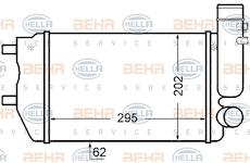 chladič turba BEHR HELLA SERVICE 8ML 376 727-571