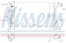 Chladič, chlazení motoru NISSENS 630691