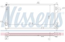 Chladič, chlazení motoru NISSENS 632421