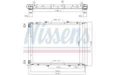 chladicí jednotka NISSENS 637626