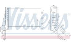Vymenik tepla, Vnitrni vytapeni NISSENS 73374
