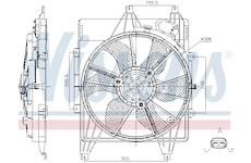 Větrák, chlazení motoru NISSENS 85882