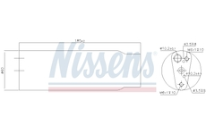 Susarna, klimatizace NISSENS 95170