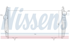 chladič turba NISSENS 96510