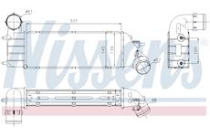 chladič turba NISSENS 96766